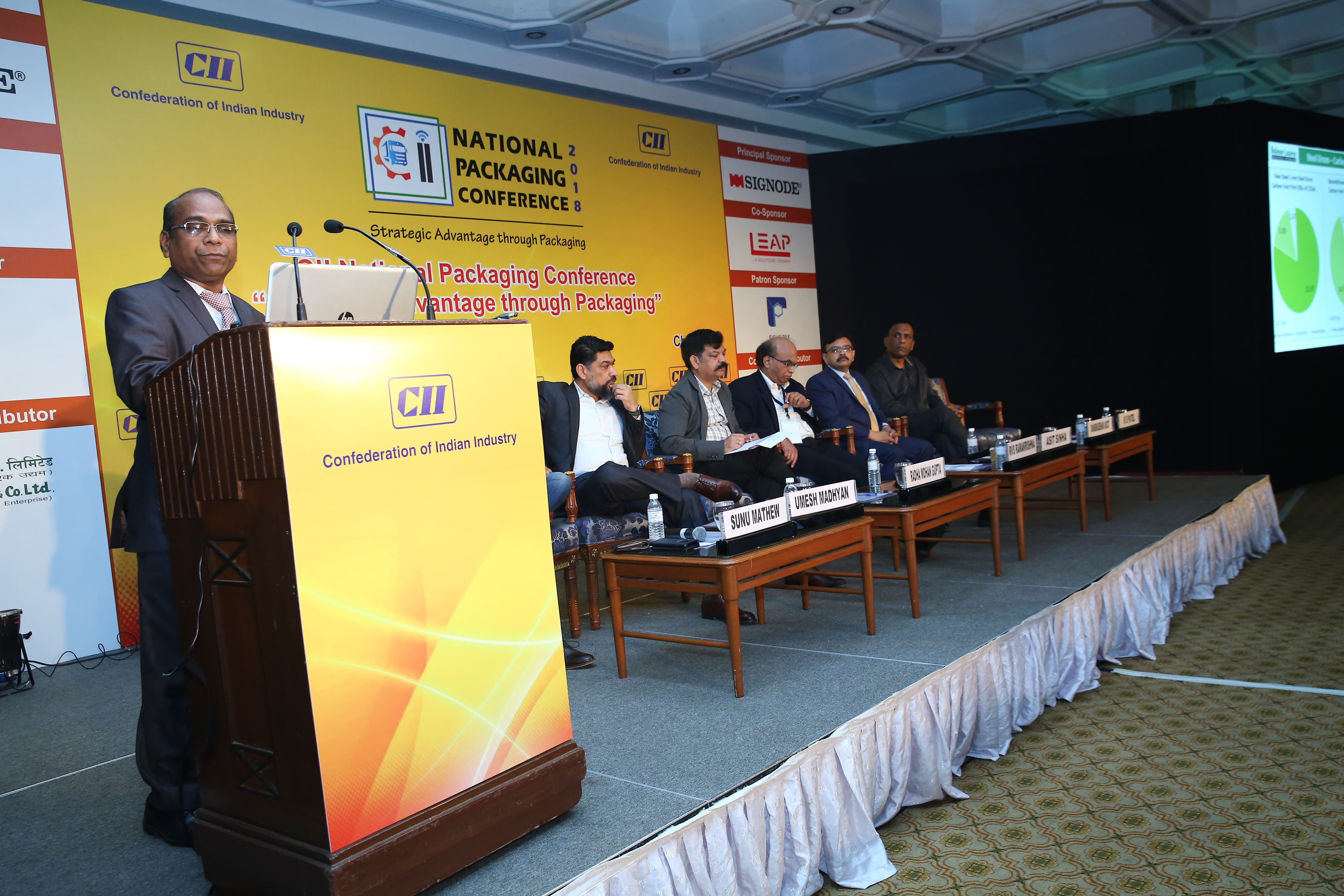 "BL-IP Sponsors the CII National Packaging Conference - on ""Strategic Advantage through Packaging"""